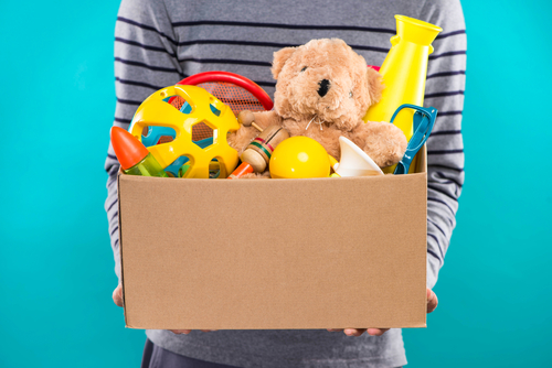Box of toys