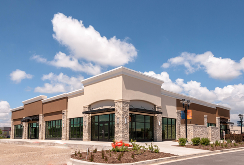 strip mall image leasing