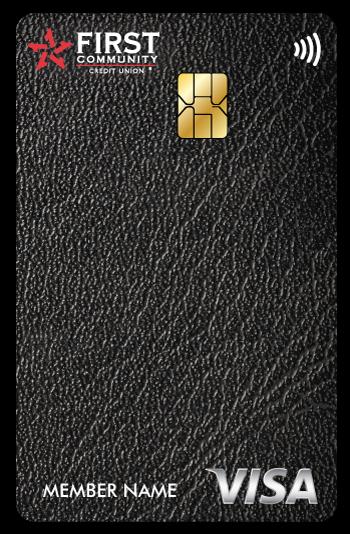 Leather FCCU credit card
