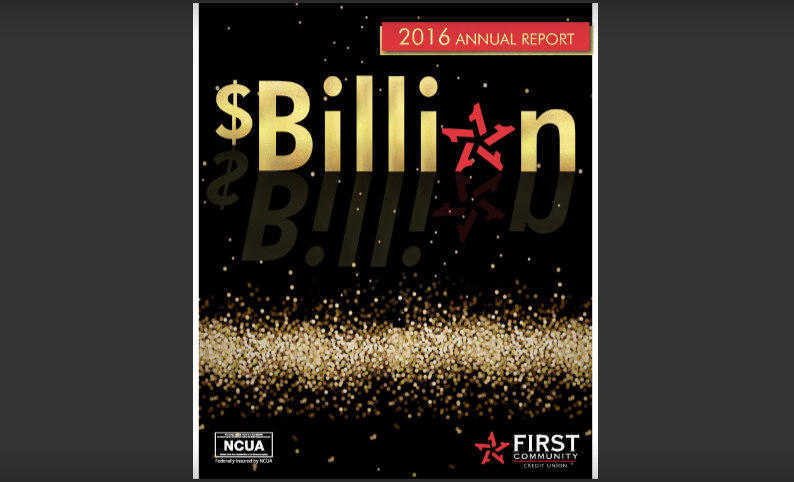 Cover page of 2016 FCCU Annual Report