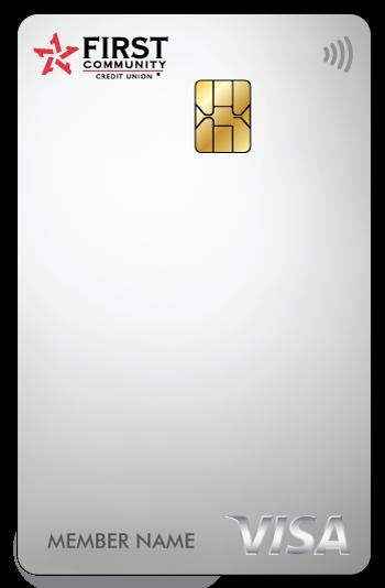 white FCCU credit card