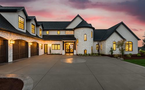 Large house for Jumbo Mortgage loan